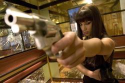 Alicia Keys in Smokin' Aces.