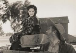 Barbara Stanwyck and Alan Hale in So Big!