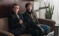 Justin Timberlake and Jesse Eisenberg.