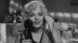 Marilyn Monroe in Some Like it Hot.