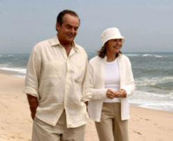 Jack Nicholson and Diane Keaton in Something's Gotta Give.