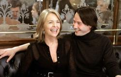 Diane Keaton and Keanu Reeves in Something's Gotta Give.