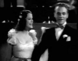 Evelyn Daw and James Cagney in Something to Sing About.