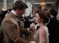 Christopher Reeve and Jane Seymour in Somewhere in Time.