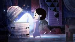 Saoirse finds her coat in Song of the Sea.