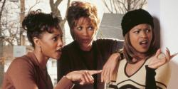 Vivica A. Fox, Vanessa L. Williams, and Nia Long in Soul Food.