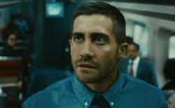 Jake Gyllenhaal in Source Code.