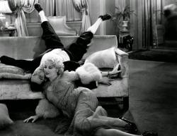 Buster Keaton and Thelma Todd in Speak Easily.