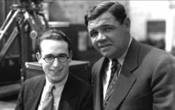 Harold Lloyd and Babe Ruth in Speedy.