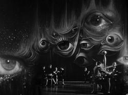 A dream sequence set designed by Salvador Dali for Spellbound.