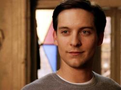 Tobey Maguire in Spider-man 2.