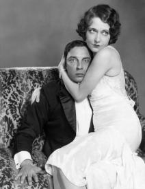 Buster Keaton and Dorothy Sebastian in Spite Marriage