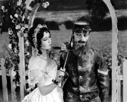 Dorothy Sebastian and Buster Keaton in Spite Marriage.