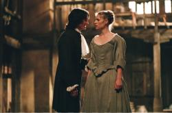 Billy Crudup and Claire Danes in Stage Beauty.