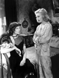 Katharine Hepburn and Ginger Rogers in Stage Door