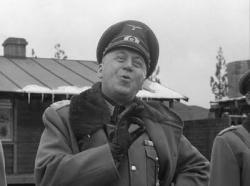 Otto Preminger as Col. von Scherbach in Stalag 17.