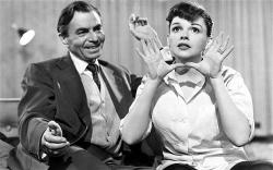 James Mason and Judy Garland in A Star is Born.