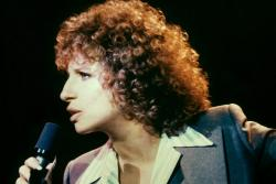 Barbra Streisand in A Star is Born.