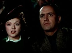 Janet Gaynor and Fredric March in A Star Is Born.