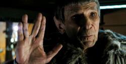 Leonard Nimoy as Spock in Star Trek.