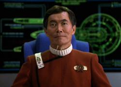 George Takei in Star Trek VI: The Undiscovered Country.