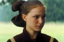 Natalie Portman in Star Wars: Episode I The Phantom Menace.