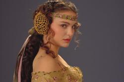 Natalie Portman in Star Wars: Episode II Attack of the Clones.