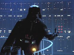 Darth Vader reveals that he is Luke's father in Star Wars: Episode V The Empire Strikes Back.
