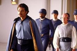 Billy Dee Williams in Star Wars: Episode V The Empire Strikes Back.