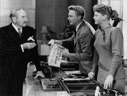 Adolphe Menjou, Van Johnson and Angela Lansbury in State of the Union.