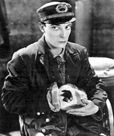 Buster Keaton in Steamboat Bill Jr.