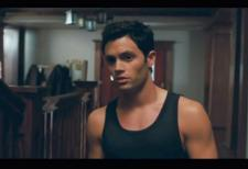 Penn Badgley obsesses over his stepfathers possible past.