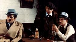 Robert Shaw, Robert Redford and Paul Newman in The Sting.