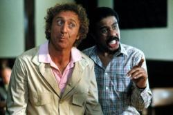 Gene Wilder and Richard Pryor in Stir Crazy.