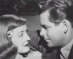 Bette Davis and Glenn Ford in A Stolen Life.