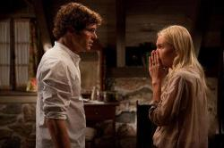 James Marsden and Kate Bosworth in Straw Dog.