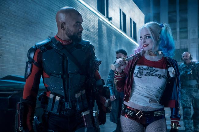 Will Smith and Margot Robie in Suicide Squad.