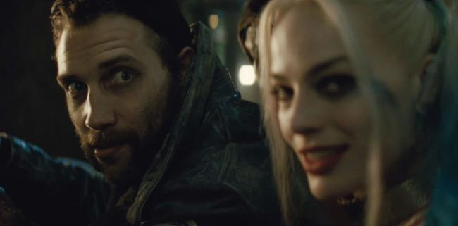 Jai Courtney and Margot Robbie in Suicide Squad