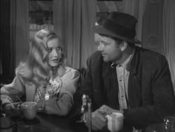 Veronica Lake and Joel McCrea in Sullivan's Travels.