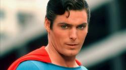 Christopher Reeve in Superman: The Movie.