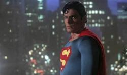 Christopher Reeve in Superman II.