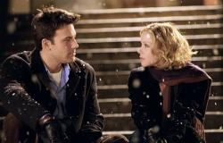 Ben Affleck and Christina Applegate in Surviving Christmas.