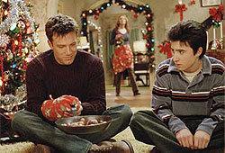 Ben Afleck, Josh Zuckerman and a symbolic bowl of nuts,