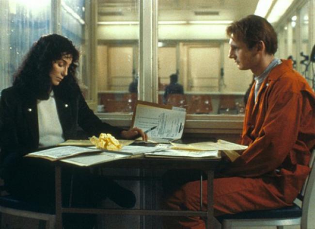 Cher and Liam Neeson in Suspect.