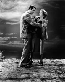 Cary Grant and Joan Fontaine in Suspicion