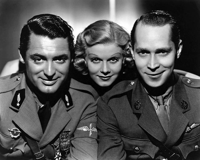 Cary Grant, Jean Harlow and Franchot Tone in Suzy