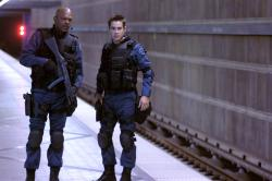Samuel L. Jackson and Colin Farrell in S.W.A.T.