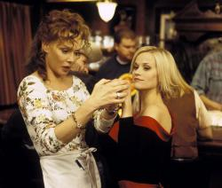 Jean Smart and Reese Witherspoon in Sweet Home Alabama.