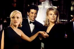 Reese Witherspoon, Patrick Dempsey and Candice Bergen in Sweet Home Alabama.