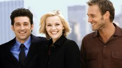 Poor Reese Witherspoon must choose between Patrick Dempsey and Josh Lucas in Sweet Home Alabama.